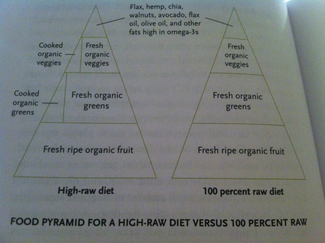 victoria bountenko's raw food pyramid